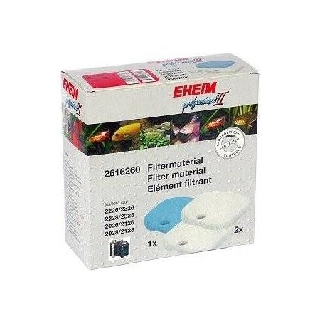 EHEIM Mousse de Pré-filtration + Ouate - Pour Filtre Professionel 2226/2326/2228/2328/2026/2126/2028/2128 et Experience 350
