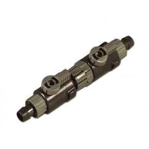 Eheim Robinet double d'arrêt pour tuyau 12/16mm
