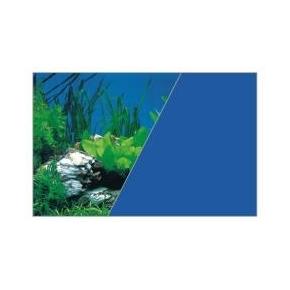 Poster de fond Roche / Bleu - 120 x 60 cm