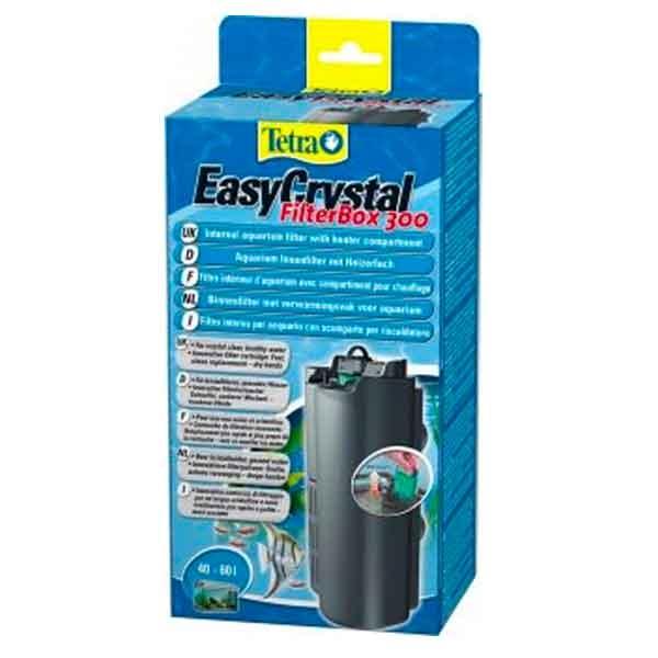 Filtre interne tetra easycrystal 300 for Filtre pour aquarium boule