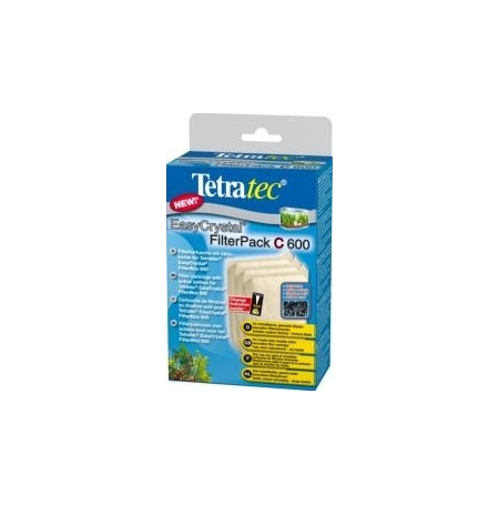 TETRA Filterpack Charbon pour Filtre EasyCrystal 600