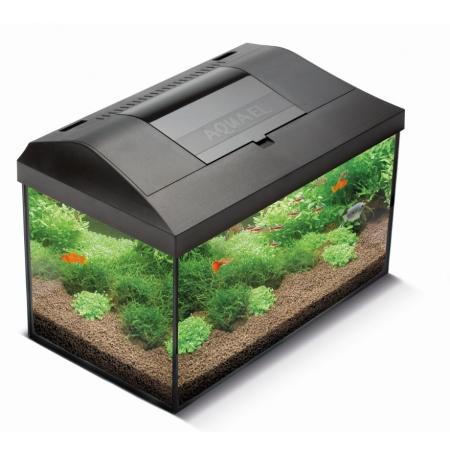 AQUAEL Leddy 60 Aquarium équipé + Meuble Noir - 54 L