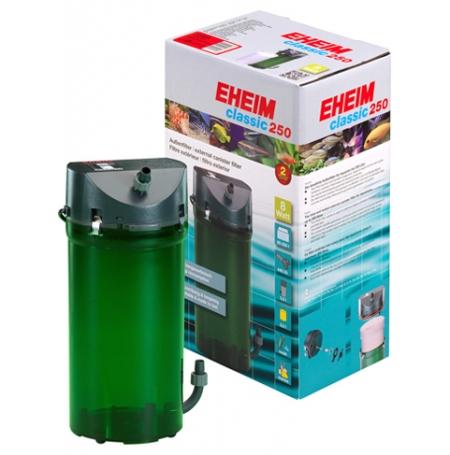 EHEIM Classic 250 + Robinets + Mousses - Filtre pour aquarium jusqu'à 250 L