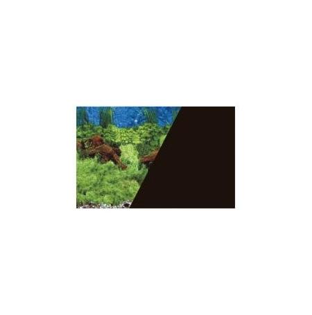 ZOLUX Poster de fond Racine / Noir - H30 x L40 cm