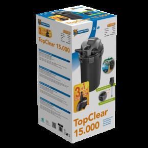 SUPERFISH Top Clear Kit 15000 - Filtre + UV + Pompe pour Bassin jusqu'à 15000 L