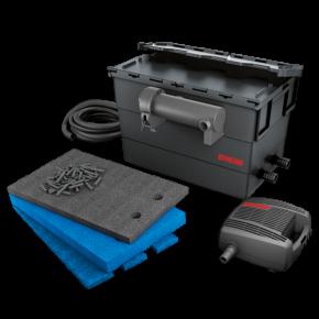 EHEIM Loop 15000 - Filtre + UV + Pompe pour Bassin jusqu'à 15000 L