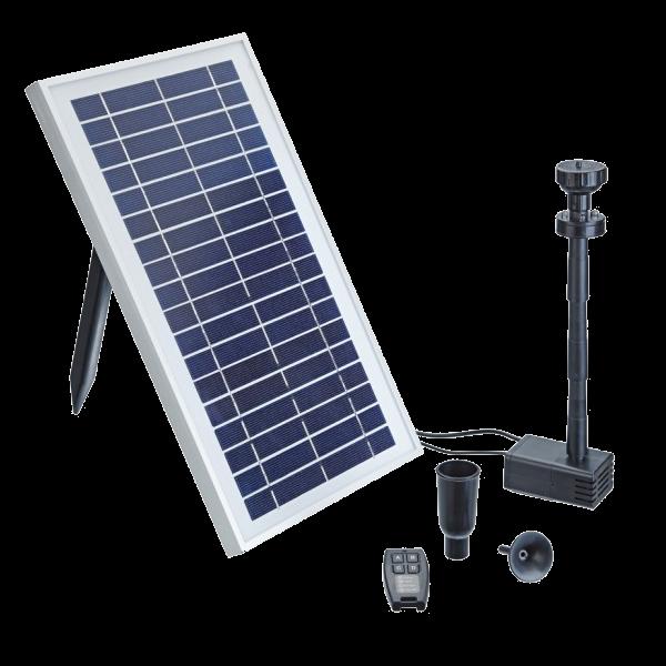 Pompe jet d 39 eau bassin pontec pondosolar 600 control - Pompe bassin solaire ...