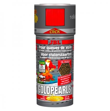 JBL GoldPearls Mini click 100 ml - Nourriture poissons rouges