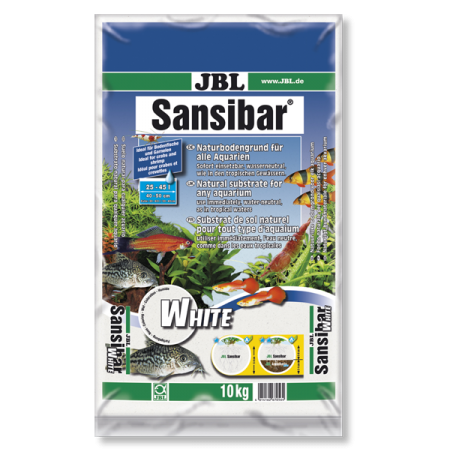 Jbl sable blanc aquarium sansibar white 10 kg for Jbl aquarium