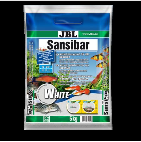 JBL Sansibar WHITE 5 kg Sable blanc pour aquarium