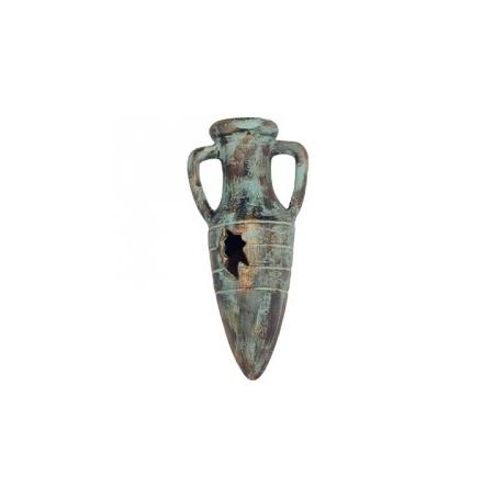ZOLUX Amphore Bronze avec diffuseur à air 10 cm