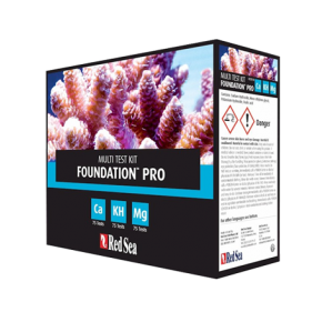 RED SEA Multi Test Kit Ca - Alk - Mg Foundation Pro