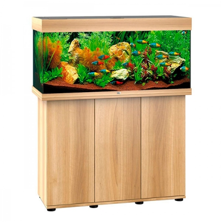 aquarium juwel rio 180 led avec meuble ch ne clair sbx. Black Bedroom Furniture Sets. Home Design Ideas