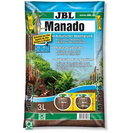 JBL MANADO Substrat sol naturel 3 Litres