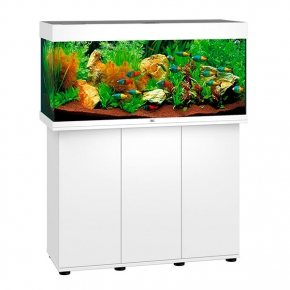 Aquarium Juwel Rio 180 LED + Meuble - Blanc