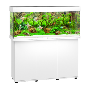 Aquarium Juwel Rio 240 LED + Meuble - Blanc