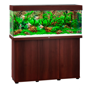 Aquarium Juwel Rio 240 LED + Meuble - Brun