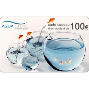 Offrez une carte cadeau Aqua Store d'une valeur de 100€