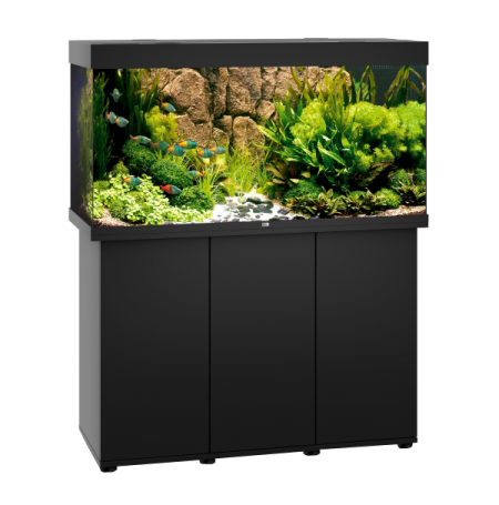 Aquarium Juwel Rio 350 LED + Meuble - Noir