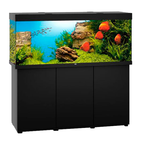 Aquarium Juwel Rio 450 LED + Meuble - Noir