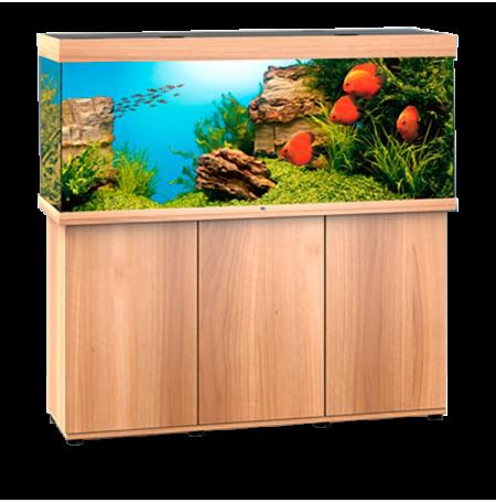 Aquarium Juwel Rio 450 LED + Meuble - Chêne Clair