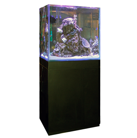 Aquarium Blau Gran Cubic 238 litres + Meuble - Blanc