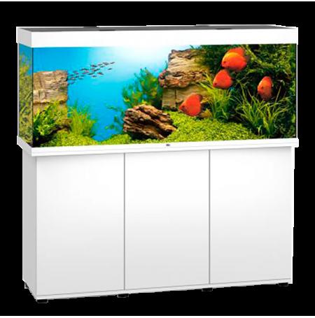 Aquarium Juwel Rio 450 LED + Meuble - Blanc