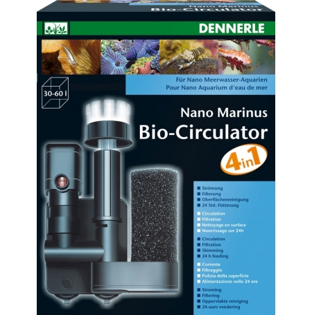 DENNERLE Nano Marinus BioCirculator 4 en 1