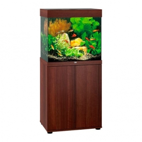 Aquarium Juwel Lido 120 LED + Meuble - Brun