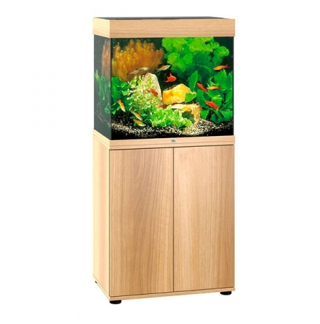 aquarium juwel lido 120 led avec meuble chene clair sbx. Black Bedroom Furniture Sets. Home Design Ideas