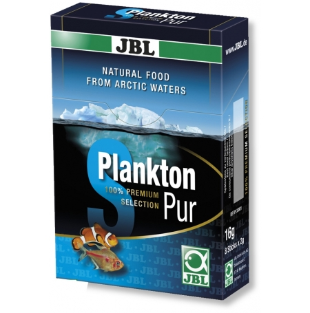 JBL PlanktonPur S2, zooplancton, 8 sticks 2 g