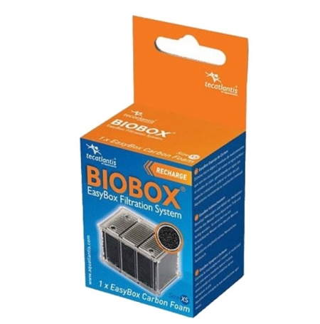 AQUATLANTIS EasyBox Charbon Actif - XS - Recharge Biobox