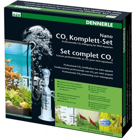 DENNERLE Kit CO2 pour nano-aquarium - Nano set 80g