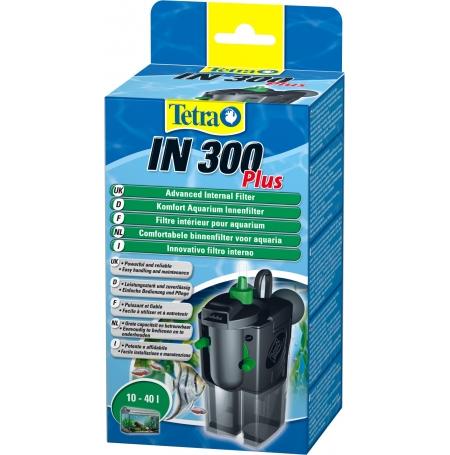 TETRA IN 300 Plus - Filtre pour Aquarium jusqu'à 40 L