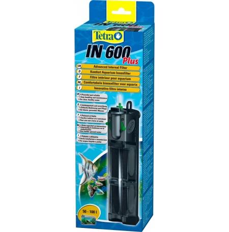 TETRA IN 600 Plus - Filtre pour Aquarium jusqu'à 100 L