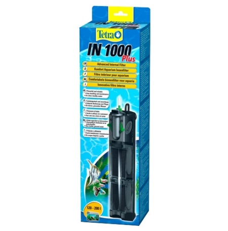 TETRA IN 1000 Plus Filtre aquarium 120 à 200L Débit : 1000l l/h