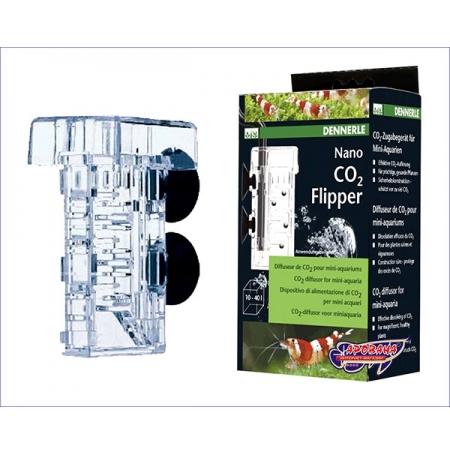 DENNERLE Nano CO2 Flipper - Diffuseur CO2 mini aquarium