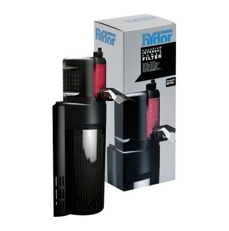 HYDOR Crystal Duo R05 2 - Filtre aquarium 80 à 150L Débit : 650 l/h