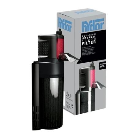 HYDOR Crystal Duo K10 Mini - Filtre pour Aquarium jusqu'à 50 L