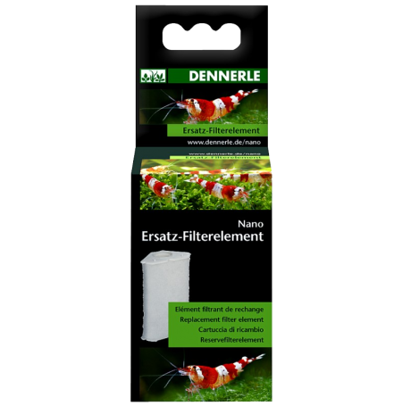 DENNERLE Mousse de rechange pour Filtres Nano Eckfilter et Nano Eckfilter XL