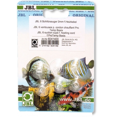 JBL Ventouses fendues pour cordons chauffants Ø 2mm- Lot de 6