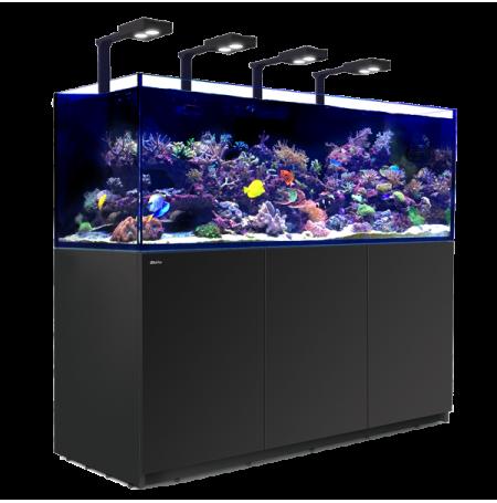 aquarium red sea reefer deluxe xxl 750 meuble noir eclairage led. Black Bedroom Furniture Sets. Home Design Ideas
