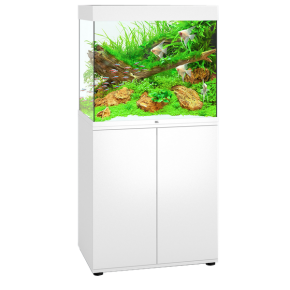 Aquarium Juwel Lido 200 LED + Meuble - Blanc