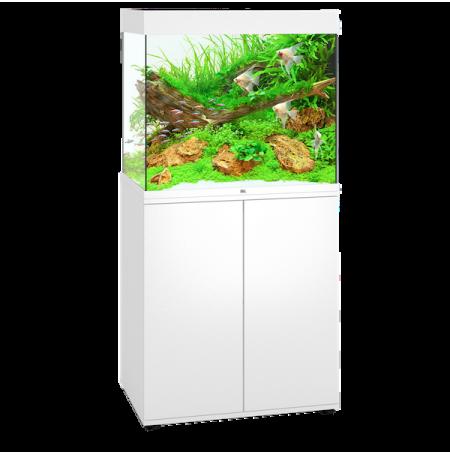 Aquarium Juwel Lido 200 LED + Meuble - Blanc