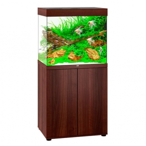 Aquarium Juwel Lido 200 LED + Meuble - Brun