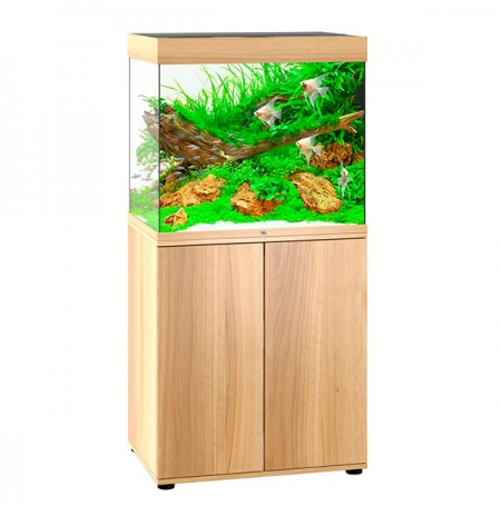 Aquarium Juwel Lido 200 LED + Meuble - Chêne Clair