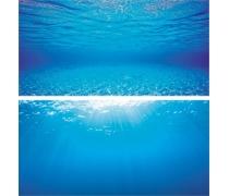 JUWEL Poster 2 - 2 faces - Eau bleu clair - S - 60x30 cm