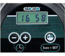 EDEN 901 Distributeur automatique de nourriture pour poissons avec clavier et écran LCD intégrés