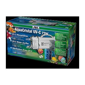 JBL AquaCristal UV-C 72 W  Stérilisateur d'eau UV-C pour aquarium et bassin