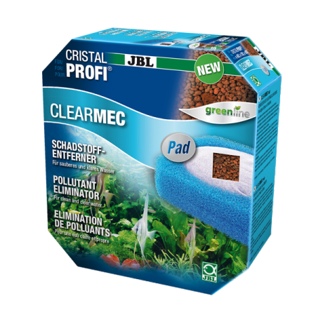 JBL ClearMec Plus Pad pour filtres CristalProfi e1501-2/1901-2